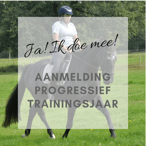 Aanmelding Progressief Trainingsjaar