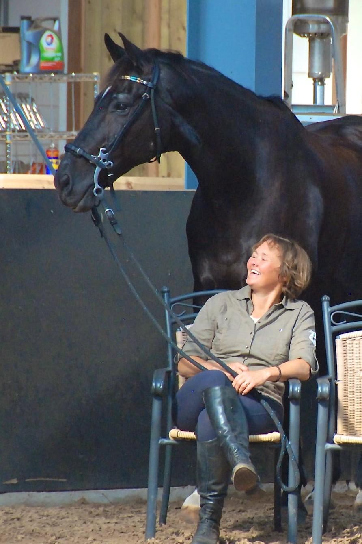 Liesbeth Jorna - Blokkadevrij Trainen en Duurzame Dressuur - Dressage Naturally Instructor